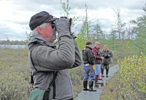 Birding the Bog at West Lake Nature Preserve Photo by Larry Wolf